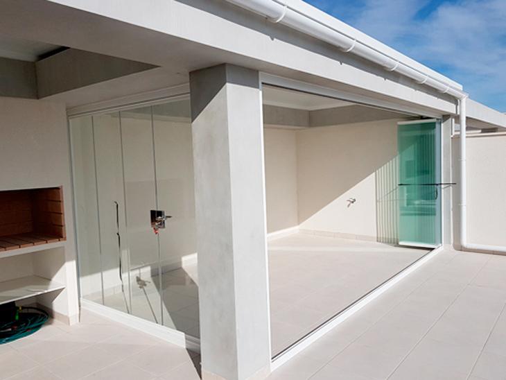 terraza cristal